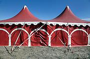 closed circus tent