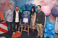 Steve Jensen, Steve Homer, Katy Perry and Bradford Cobb (L-R)