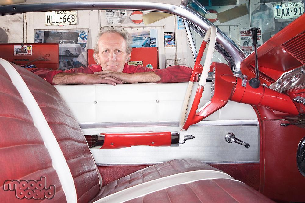 Interior of Restored 1961 Chevrolet Impala