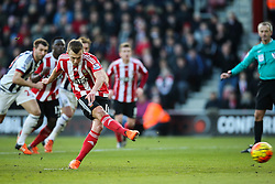 Goal, James Ward-Prowse of Southampton scores from the penalty spot, Southampton 2-0 West Bromwich Albion - Mandatory by-line: Jason Brown/JMP - 07966386802 - 16/01/2016 - FOOTBALL - Southampton, St Mary's Stadium - Southampton v West Bromwich Albion - Barclays Premier League