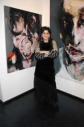 Artist LITA CABELLUT at a private view of paintings by her and Russian artist Yuri Kuper at Opera Gallery, 134 New Bond Street, London on 2nd April 2008.<br />