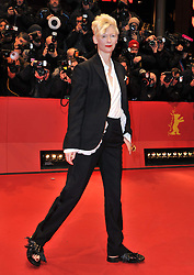 Tilda Swinton attend the Opening Party of the 64th Berlinale International Film Festival, Berlin, Germany, Thursday, 6th February 2014. Picture by  Schneider-Press / i-Images<br /> UK & USA ONLY