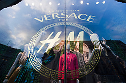 © London News Pictures. 17/11/2011. London, UK. The launch of the new Versace collection at H&M on Regent Street, London today (17/11/2011). Shoppers had queued for nearly 24 hours to be first in line for Versace's hotly anticipated collection : Ben Cawthra/LNP