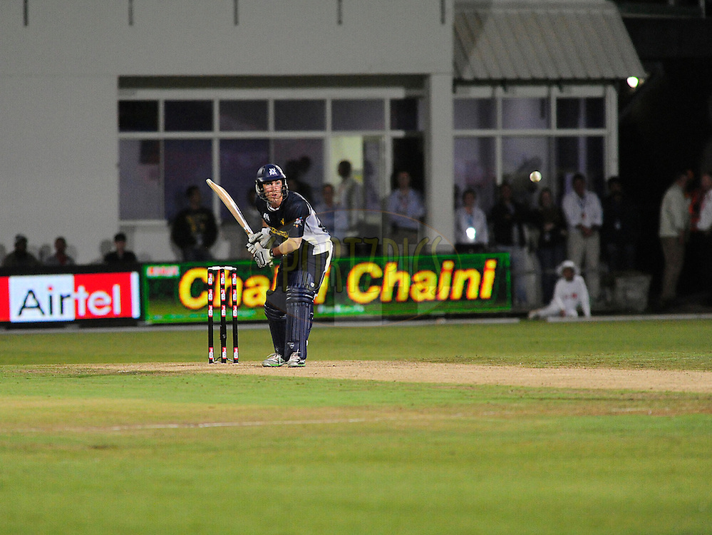 Glenn Maxwell during match 6 of the Airtel CLT20 between The Warriors and The Victorian Bushrangers held at St Georges Park in Port Elizabeth on the 13 September 2010..Photo by: Deryck Foster/SPORTZPICS/CLT20