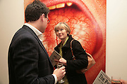Georgina Adam, Other,Riyas Komu and Peter Drake. - VIP  launch of Aicon. London's largest contemporary Indian art gallery. Heddon st. and afterwards ant Momo.15 Marc h 2007.  -DO NOT ARCHIVE-© Copyright Photograph by Dafydd Jones. 248 Clapham Rd. London SW9 0PZ. Tel 0207 820 0771. www.dafjones.com.