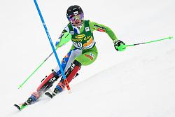 January 7, 2018 - Kranjska Gora, Gorenjska, Slovenia - Klara Livk of Slovenia competes on course during the Slalom race at the 54th Golden Fox FIS World Cup in Kranjska Gora, Slovenia on January 7, 2018. (Credit Image: © Rok Rakun/Pacific Press via ZUMA Wire)