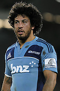 Blues' Rene Ranger. Super 15 rugby union match, Blues v Hurricanes at Eden Park, Auckland, New Zealand. Saturday 19th March 2011. Photo: Anthony Au-Yeung / photosport.co.nz