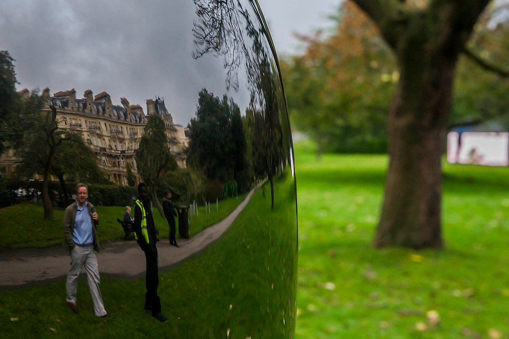 Head (Mao) by Not Vital, The Sculpture Park - Frieze London and Frieze Masters 2014, Regents Park, London, 14 Oct 2014.