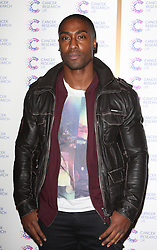 Simon Webbe attends the James' Jog-on to Cancer charity fundraiser, Kensington Roof Gardens, April 3, 2013 in London, England. Photo by: i-Images..