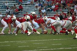 02 September 2004      St. Xavier Cougars at Illinois State University Redbirds.  Hancock Stadium.  Normal IL