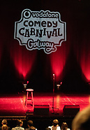 Vodafone Comedy Carnival Galway 18 reginald D, Andrew Maxwell, Gina
