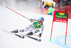 Fritz Dopfer of Germany competes during 1st run of Men's GiantSlalom race of FIS Alpine Ski World Cup 57th Vitranc Cup 2018, on March 3, 2018 in Kranjska Gora, Slovenia. Photo by Ziga Zupan / Sportida