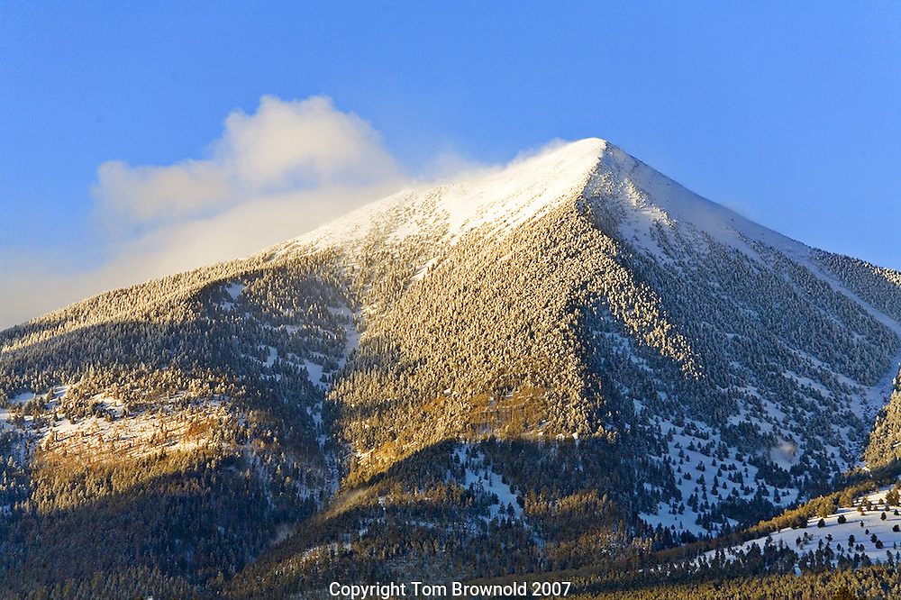 Winter storm clearing,<br />