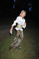 COUNTESS MAYA VON SCHONBURG at a Summer party hosted by Lady Annabel Goldsmith at her home Ormeley Lodge, Ham, Surrey on 14th July 2009.