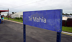 Auckland-Push chair rolls on to tracks at Te Mahia station