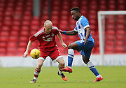 Willo Flood during the Pre-Season Friendly match between Aberdeen and Brighton and Hove Albion at Pittodrie Stadium, Aberdeen, Scotland on 26 July 2015.