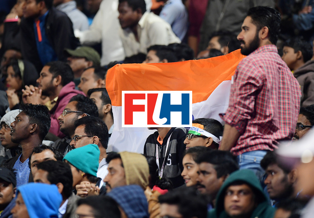 Odisha Men's Hockey World League Final Bhubaneswar 2017<br /> Match id:10<br /> India v Germany<br /> Foto: Fans<br /> WORLDSPORTPICS COPYRIGHT FRANK UIJLENBROEK