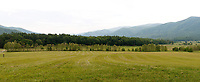Cades Cove panorama Great Smoky Mountains National Park, Tennesee,
