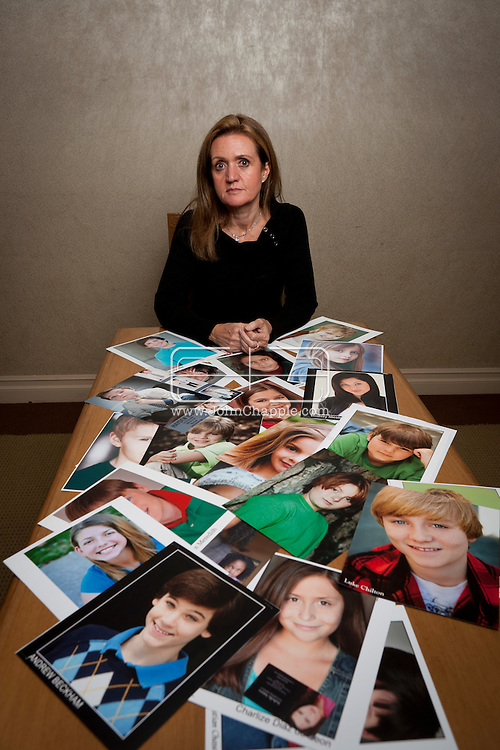 February 7th, 2012, Los Angeles, California. Cindy Osbrink, of the the Osbrink Talent Agency, is the biggest child acting agent in Los Angeles. PHOTO © JOHN CHAPPLE / www.johnchapple.com.