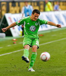 07.05.2011, Volkswagen Arena, Wolfsburg, GER, 1.FBL, VfL Wolfsburg vs 1.FC Kaiserslautern, im Bild Sascha Riether (Wolfsburg #20) .EXPA Pictures © 2011, PhotoCredit: EXPA/ nph/  Schrader       ****** out of GER / SWE / CRO  / BEL ******