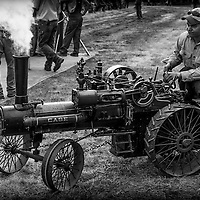 Case expanded into the steam engine business in 1869 after manufacturing threshers.  By 1886, Case was the world's largest manufacturer of steam engines.