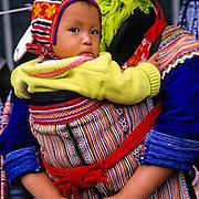 VIETNAM, N. HILL TRIBE, Flower Hmong