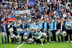 16-05-2010 VOETBAL: FC UTRECHT - RODA JC: UTRECHT<br /> FC Utrecht verslaat Roda in de finale van de Play-offs met 4-1 en gaat Europa in / Utrecht 2 winnen de beker<br /> ©2010-WWW.FOTOHOOGENDOORN.NL