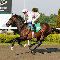 Handsome Ransom and William Buick winning the 6.00 race