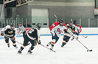 Belmont/Gilford versus Kennett in tournament action at Laconia Ice Rink Saturday, March 2, 2013.  Karen Bobotas/for the Laconia Daily Sun