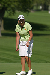 Emilee Klein<br /> State Farm Classic, LPGA Event practice. The Rail golf course, Sherman IL.  Final tournament winner was Cristie Kerr.