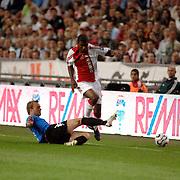 NLD/Amsterdam/20060823 - Ajax - FC Kopenhagen, Ryan Babel in duel met