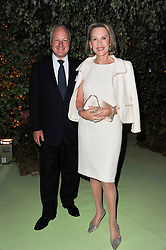 LUCE CHURCHILL and MARK LLOYD at a dinner hosted by Cartier in celebration of the Chelsea Flower Show held at Battersea Power Station, 188 Kirtling Street, London SW8 on 23rd May 2011.