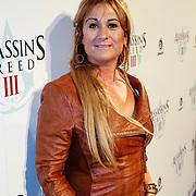 NLD/Amsteram/20121025- Lancering Assassin's Creed game, Laura Vlasblom, Charlotte Labee, Graziella Ferraro, Hind Laroussi Tahari