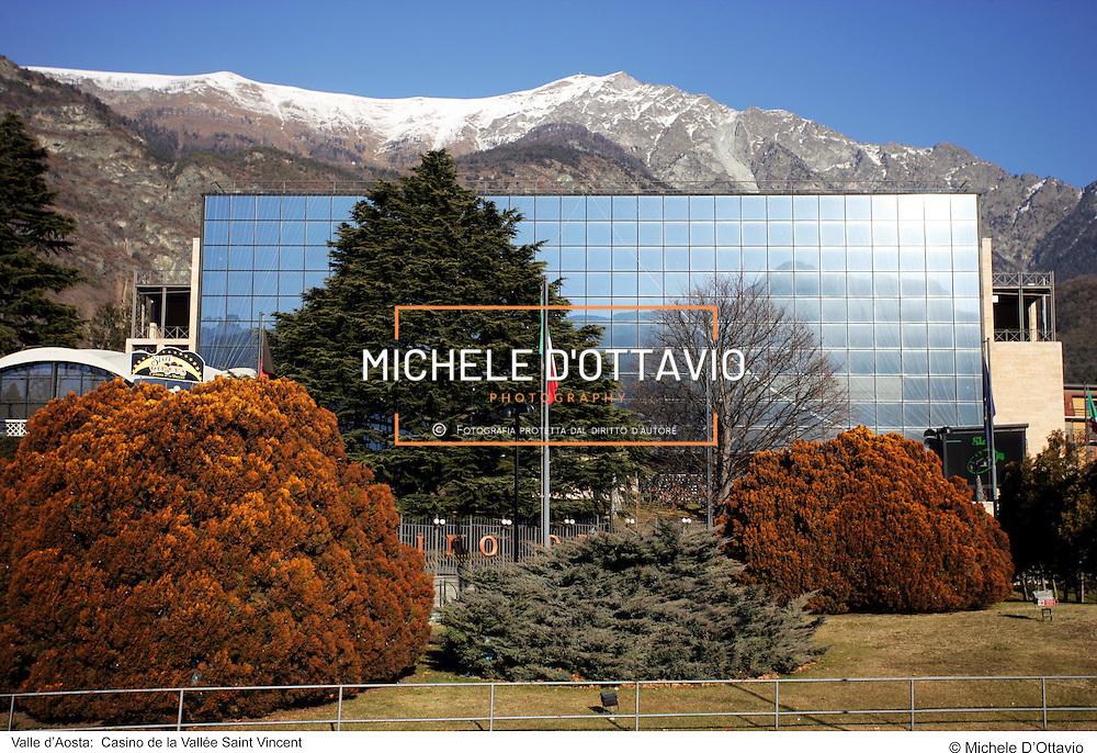 Valle d?Aosta:  Casino de la Vallée Saint Vincent   . fotografia di  Michele D?Ottavio