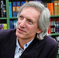 """Michael Baigent, British author of """"The Inquisition"""". English. Academic. .Taken at or during Hay Festival. Ref: 2000050488.<br /> <br /> Copyright Image from Victor Patterson,<br /> 54 Dorchester Park, Belfast, UK, BT9 6RJ<br /> <br /> t1: +44 28 90661296<br /> t2: +44 28 90022446<br /> m: +44 7802 353836<br /> <br /> e1: victorpatterson@me.com<br /> e2: victorpatterson@gmail.com<br /> <br /> For my Terms and Conditions of Use go to<br /> www.victorpatterson.com"""