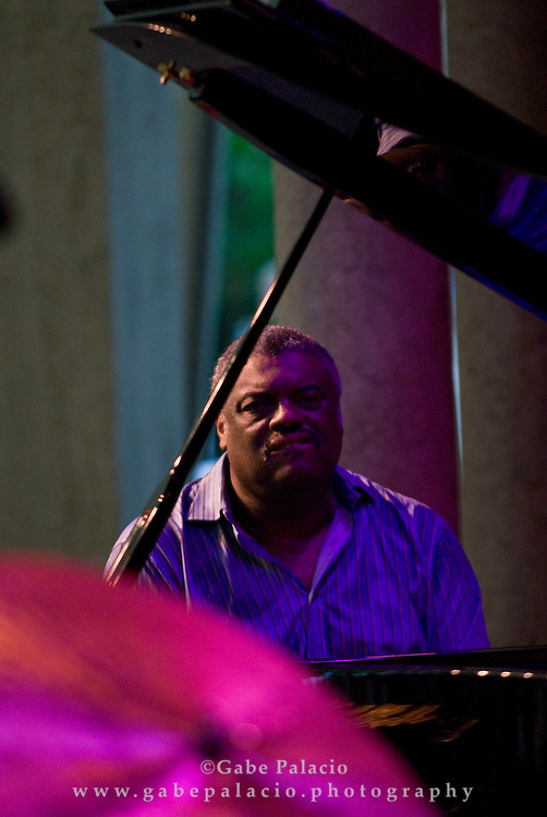 Mulgrew Miller & Wingspan performing in the Jazz Festival II in the Venetian Theater at Caramoor  in Katonah, New York on Friday, Aug 1, 2008.
