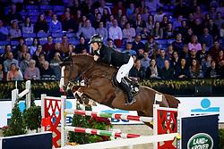 Pals Johnny, NED, Chat Botte du Ruisseau Z<br /> Vlaanderens Kerstjumping<br /> Memorial Eric Wauters<br /> Jumping Mechelen 2017<br /> © Dirk Caremans<br /> 29/12/2017
