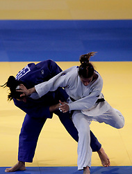 23.04.2010, Ferry Dusika Stadion, Wien, AUT, Judo European Championships, Cecilla Blanco (ESP) vs Mylene Chollet (FRA), during Judo European Championships 2010, EXPA Pictures 2010, Photographer EXPA/S.Trimmel / SPORTIDA PHOTO AGENCY