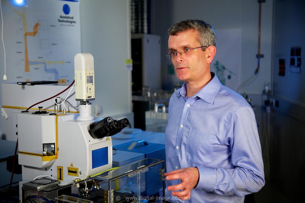 Dr Mark Tobin, Principal Scientist - Infrared Microscopy at the Australian Synchrotron