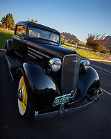Vintage Chevrolet Club of America Classic Cars on Tour. Image taken with a Nikon D3 camera and 14-24 mm f/2.8 lens.