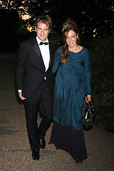 BEN & KATE GOLDSMITH at the Royal Parks Foundation Summer Party hosted by Candy & Candy on the banks of the Serpentine, Hyde Park, London on 10th September 2008.