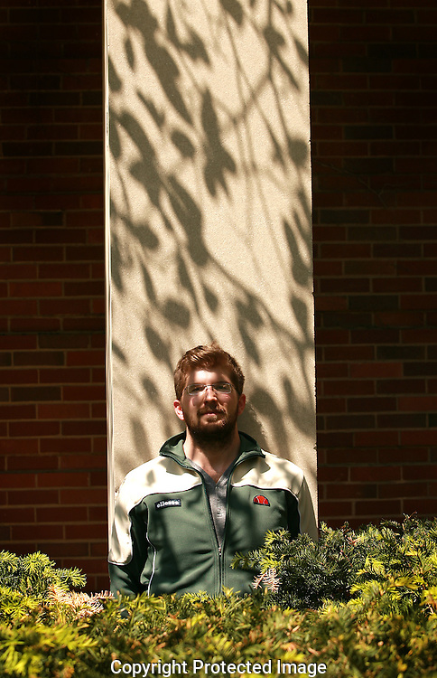 Tristan Seufert will perform his MFA exhibition on the OSU campus.(Jodi Miller/Alive)
