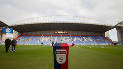 General view of the DW Stadium - Mandatory by-line: Jack Phillips/JMP - 08/02/2020 - FOOTBALL - DW Stadium - Wigan, England - Wigan Athletic v Preston North End - English Football League Championship