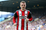 Sheffield United midfielder John Fleck (4) during the EFL Sky Bet Championship match between Sheffield Wednesday and Sheffield Utd at Hillsborough, Sheffield, England on 24 September 2017. Photo by Phil Duncan.