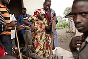 Nyirambabazi,30 years<br /> She is at her first pregnancy. She was living in Kahe Camp. Neighbors transported her from kazuba to the hospital St Benoit of Kitchanga on feet during 6 hours of walking.