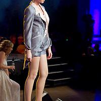 Manier Fashion Show presents dresses designed by Aniko Nemeth held in Budapest, Hungary, Friday, 01. October 2010. ATTILA VOLGYI