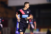 U21 Newcastle United's Owen Gallacher during the Barclays U21 Premier League match between U21 Brighton and Hove Albion and U21 Newcastle United at the Checkatrade.com Stadium, Crawley, England on 23 March 2016.