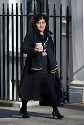 "© under license to London News Pictures. 5th August 2014 Foreign Office minister Baroness Warsi has resigned from the government, saying she can ""no longer support"" its policy on Gaza. FILE PICTURE DATED . 23/04/2013. London, UK.    Baroness Warsi  on Downing Street in London for cabinet meeting. Photo credit: Ben Cawthra/LNP."