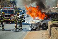 Asheville Car Fire