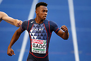 Ruben Gado competes in men decathlon (100m) during the European Championships 2018, at Olympic Stadium in Berlin, Germany, Day 1, on August 7, 2018 - Photo Philippe Millereau / KMSP / ProSportsImages / DPPI